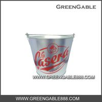0.28mm galvanized metal. ICE BUCKET005