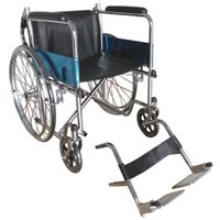 Wheelchair LK6005-46C with detachable leg, folding backrest