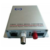 1Video +1Data+ 1Audio/Alarm Video optical transmitter and receiver
