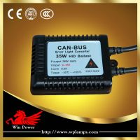 Super slim Electronic HID Canbus Ballast Design for HID Xenon Lamps 12V35W