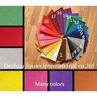 China manufacturer plain exhibition carpet