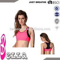 2014 oem blank ladies sports bra seamless yoga bra sexy bra