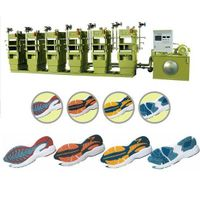 Automatic rubber sole molding press thumbnail image
