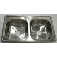 south america hot sale kitchen sink stainless steel undermount WY-8550