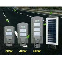 LED solar road lamp