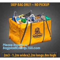PP WOVEN BAGS, BULK FIBCs, JUMBO BAG, KRAFT WOVEN POLYPROPYLENE, DUMPSTER SKIP, FLEXITANK CONTAINERL