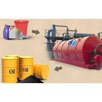 Recycaling rubber pyrolysis plant for oil