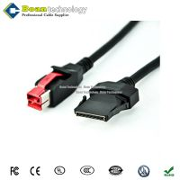 24V PoweredUSB to 1x8pin Cable