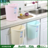 Kitchen Garbage Hanging Trash Can Door Cabinet Rubbish hanging waste bin