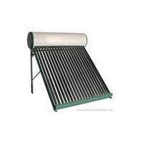 non-pressured solar water heater