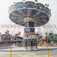 outdoor amusement rides rotary luxury flying chair