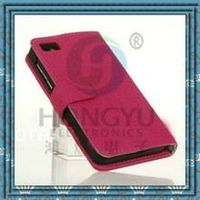 With card holder hot selling Luxury leather mobil phone case