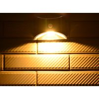 Solar Led Motion Sensor Movement Detector Wall Light Outdoor Decoration Fence Lights Sunlight Garden thumbnail image
