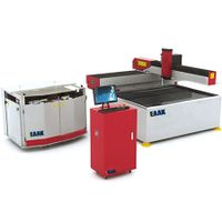 China water jet cutting machine for metal glass stone