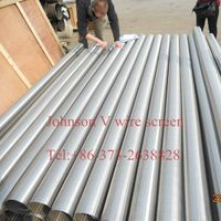 Johnson Screen casing pipes