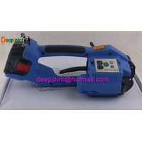 Battery Strapping Tool for polyester (PET) strapping & polypropylene (PP) strapping