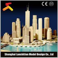 Urban model making, high-quality building model thumbnail image
