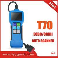 All OBDII/EOBD Highend Diagnostic Color-Screen Auto Scanner Tool T70