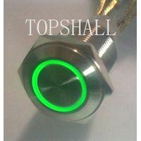 16mm SPDT metal swith/metal pushbutton/metal pushbutton switch/pushbutton switch/pushbutton