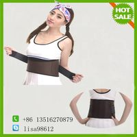 Sports Elastic Tourmaline Self Heating Back Support Belt