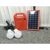 Lead-acid battery 4.5Ah6V solar red color portable solar lantern system for street,garden,school,cam