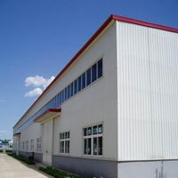 Hot dip galvanized Warehouse/Hangar/workshop/shed Steel frame Structure Building in deserts and trop thumbnail image