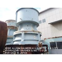"USED ""KOBE"" ALLIS-CHALMERS"" 4-1/2-72 (72"" X 4-1/2"") HYDRO CONE (EXCONE) CRUSHER S/NO.11-1139 WITH HY"