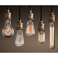 Modern Pendant Light Vintage style Chandelier Fireworks Edison Bulb E27 Simple Hanging Lighting Bras