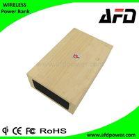 Qi Wireless charging Wooden Bluetooth Speaker