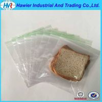 new hot sale LDPE material solid color zipper bag