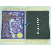 oriental persian rug coffe pads/mats