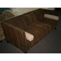 Chenille stripe fabric for sofa