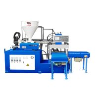 (Slide type)Two Workstation Vertical Plastic Injection Molding Machine
