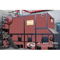 Straw biomass power plant boiler