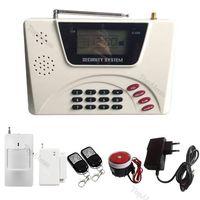 900/1800/1900Mhz GSM PSTN HOMESECRUR Wireless Home SMS Autodial Alarm System