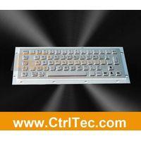 metallic keyboard