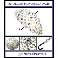 All big size fancy style straight umbrellas for lady