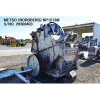 "USED METSO ""NORDBERG"" MODEL NP1213M IMPACT CRUSHER S/NO. 20360403 thumbnail image"