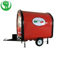 BBQ Vending Fast Food Trailer for Sale USA