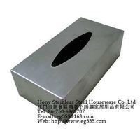 Stainless Steel tissue box