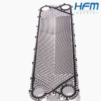 Marine High Recovery Titanium Plate Heat Exchanger