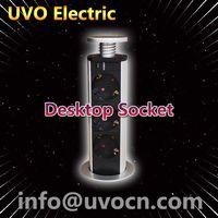 Pop up socket for desktop use desktop socket