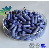 Empty Hard Gelatin Capsule Shells purple clear 0 2