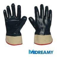 Nitrile Full Coating Heavy Duty Oil Proof Jersey Gloves