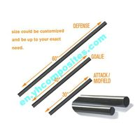 Carbon Fiber/Fiberglass Lacrosse poles shafts