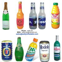 inflatable champagne beer bottle, inflatable can, inflatable juice box for promotion thumbnail image
