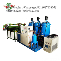 Bed Sleep pillow pu foaming machine Summer blue and green silicone gel pillow manufacturing equipmen thumbnail image