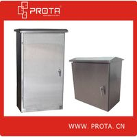 Steel Stainless Distribution Box Outside Using