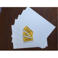 Offset Printing PVC plastic sheet for cards