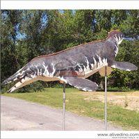 Fiberglass and animatronic animal sculpture for sale thumbnail image